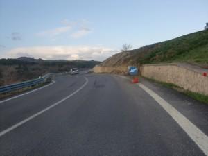 Frana, km 18E700 - km 18E900, SS645, del 12 marzo 2012